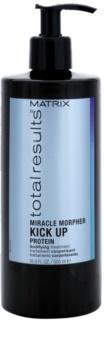 Matrix Total Results Miracle Morpher Kick up proteínová starostlivosť pre jemné vlasy a poškodené vlasy