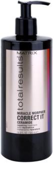 Matrix Total Results Miracle Morpher Correct it cuidado de ceramida para cabello dañado, químicamente tratado