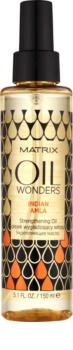 Matrix Oil Wonders Indian Amla obnovující olej pro lesk a hebkost vlasů