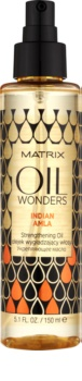 Matrix Oil Wonders obnovující olej pro lesk a hebkost vlasů