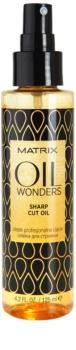 Matrix Oil Wonders tápláló olaj a hajvágás megkönnyítéséért