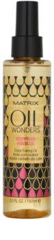 Matrix Oil Wonders Egyptian Hibiscus ošetrujúci olej na ochranu farby