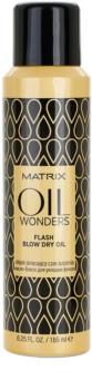 Matrix Oil Wonders óleo em spray para secagem mais rápida