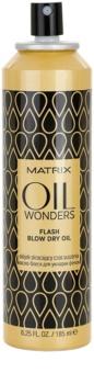 Matrix Oil Wonders Öl Spray für ein schnelleres Föhn-Styling