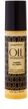 Matrix Oil Wonders Oil Cream para modelação