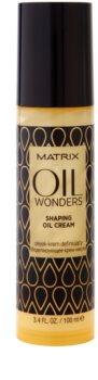 Matrix Oil Wonders tvarující olejový krém