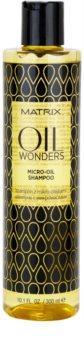 Matrix Oil Wonders микро-олио шампоан за блясък и мекота на косата