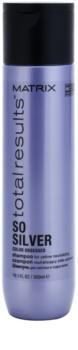 Matrix Total Results So Silver šampon za zaščito blond barve las