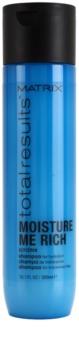 Matrix Total Results Moisture Me Rich hydratisierendes Shampoo mit Glycerin