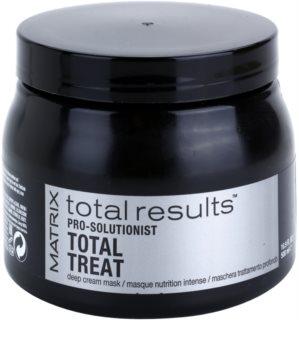 Matrix Total Results Pro Solutionist θρεπτική μάσκα για κατεστραμμένα, χημικά επεξεργασμένα μαλλιά