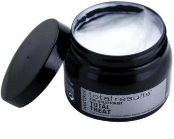 Matrix Total Results Pro Solutionist hranilna maska za poškodovane in kemično obdelane lase