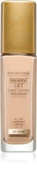 Max Factor Radiant Lift Langaanhoudende Make-up  SPF 30