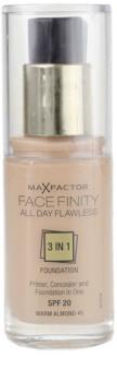 Max Factor Facefinity tekoči puder 3v1
