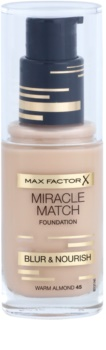 Max Factor Miracle Match Liquid Foundation With Moisturizing Effect