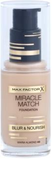 Max Factor Miracle Match тональний крем  зі зволожуючим ефектом