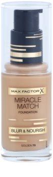 Max Factor Miracle Match tekoči puder z vlažilnim učinkom