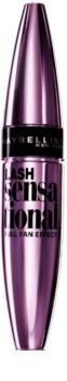 Maybelline Lash Sensational rimel în ambalaj metalic, pentru gene lungi și groase