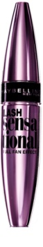 Maybelline Lash Sensational szempillaspirál a telt és hosszú pillákért metál csomagolásban