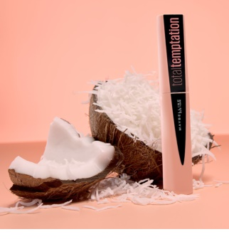 Maybelline Total Temptation řasenka pro objem s kokosovou vůní