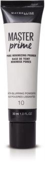 Maybelline Master Prime pré-base para minimizar os poros