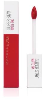 Maybelline SuperStay Matte Ink tartós matt folyékony rúzs