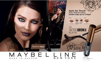 Maybelline Tattoo Brow coloration sourcils gel semi-permanente