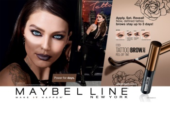Maybelline Tattoo Brow gel semi-permanente para as sobrancelhas