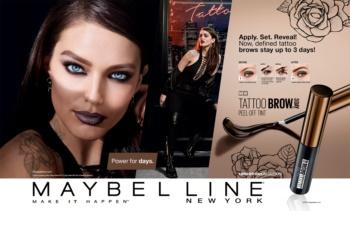 Maybelline Tattoo Brow semi-permanentní gelová barva na obočí