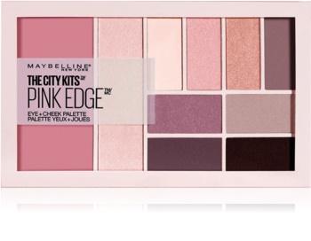 Maybelline The City Kits™ Pink Edge multifunkciós arc paletta az arcra és a szemekre