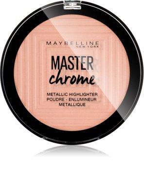 Maybelline Master Chrome rozświetlacz