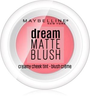Maybelline Dream Matte Blush matná krémová lícenka