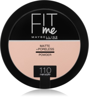 Maybelline Fit Me! Matte+Poreless матуюча пудра