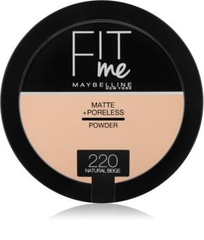 Maybelline Fit Me! Matte+Poreless matirajoči puder