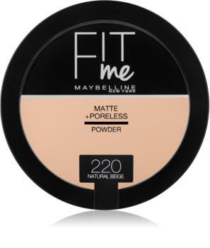 Maybelline Fit Me! Matte+Poreless zmatňujúci púder