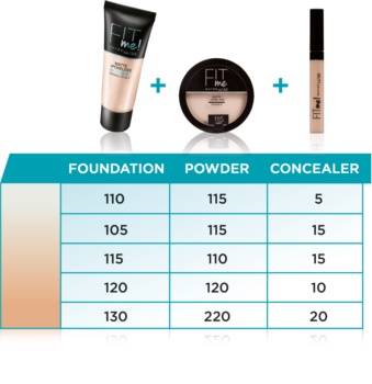 Maybelline Fit Me! Matte+Poreless Matterende Poeder