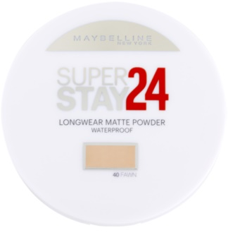 Maybelline SuperStay 24H Long-Lasting poudre waterproof