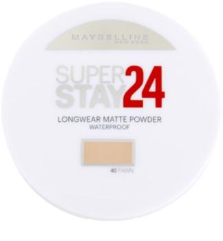 Maybelline SuperStay 24H Long-Lasting pudra rezistenta la umezeala