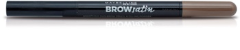 Maybelline Brow Satin creion pentru sprancene duo