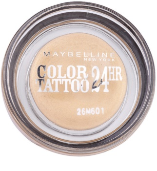 Maybelline Eyestudio Color Tattoo 24 HR gelové oční stíny