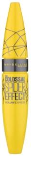 Maybelline Volum' Express The Colossal Spider Effect Volumenmascara mit Verlängerungseffekt und Wimperntrennung