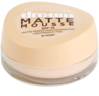 Maybelline Dream Matte Mousse machiaj cu efect matifiant