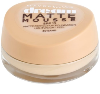Maybelline Dream Matte Mousse Mattifying Foundation