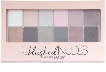 Maybelline The Blushed Nudes szemhéjfesték paletták