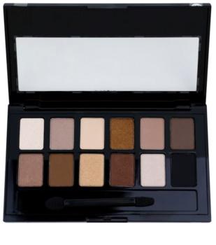 Maybelline The Nudes paleta očních stínů