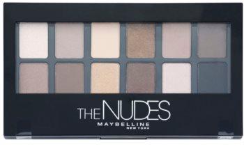 Maybelline The Nudes paletka očných tieňov