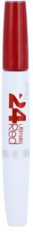Maybelline SuperStay 24H Ultimate Red рідка помада з бальзамом