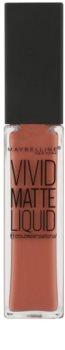 Maybelline Color Sensational Vivid Matte Liquid ruj de buze lichid cu efect matifiant