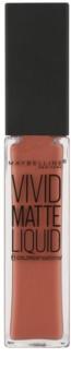 Maybelline Color Sensational Vivid Matte Liquid tekutý rúž s matným efektom