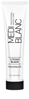 MEDIBLANC Strong Black dentifricio per la protezione completa dei denti con effetto sbiancante