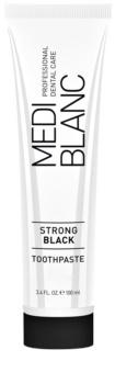 MEDIBLANC Strong Black pasta za cjelovitu zaštitu zuba s izbjeljivajućim učinkom